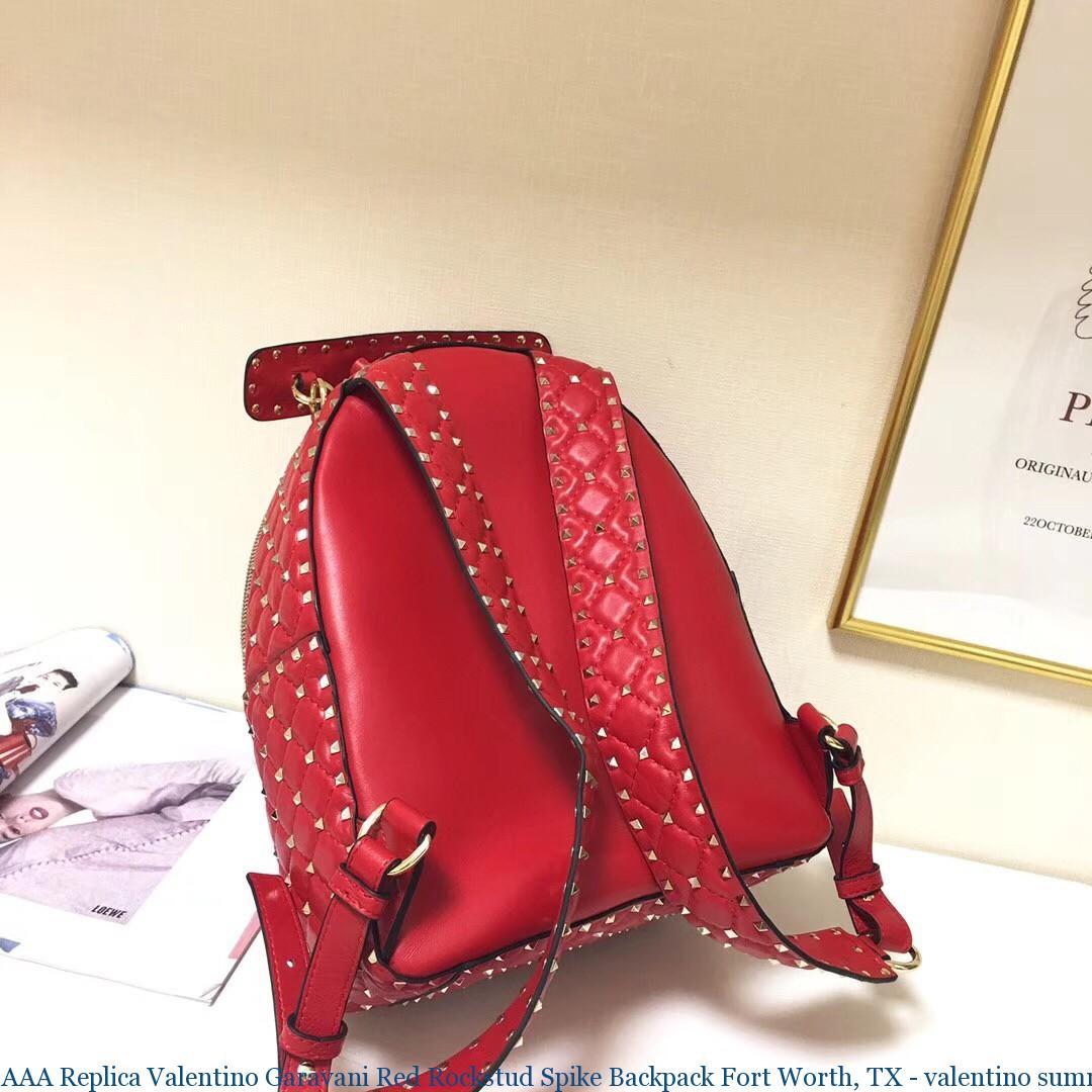 Aaa Replica Valentino Garavani Red Rockstud Spike Backpack Fort Worth Tx Summer Love 2409