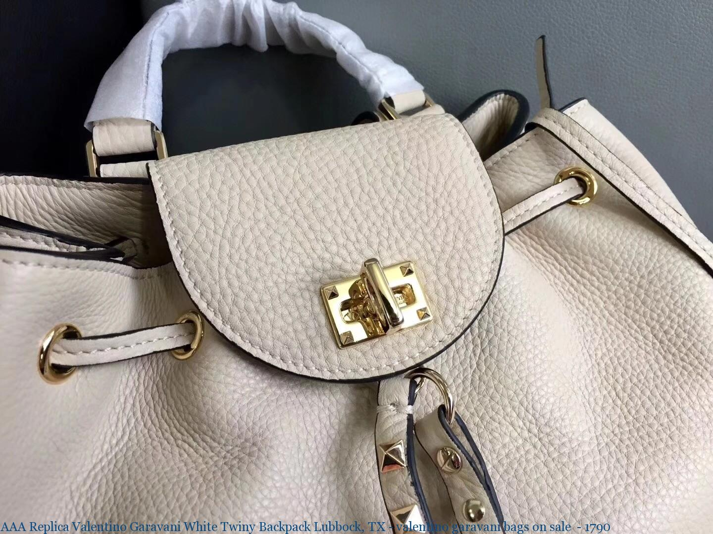 Aaa Replica Valentino Garavani White Twiny Backpack