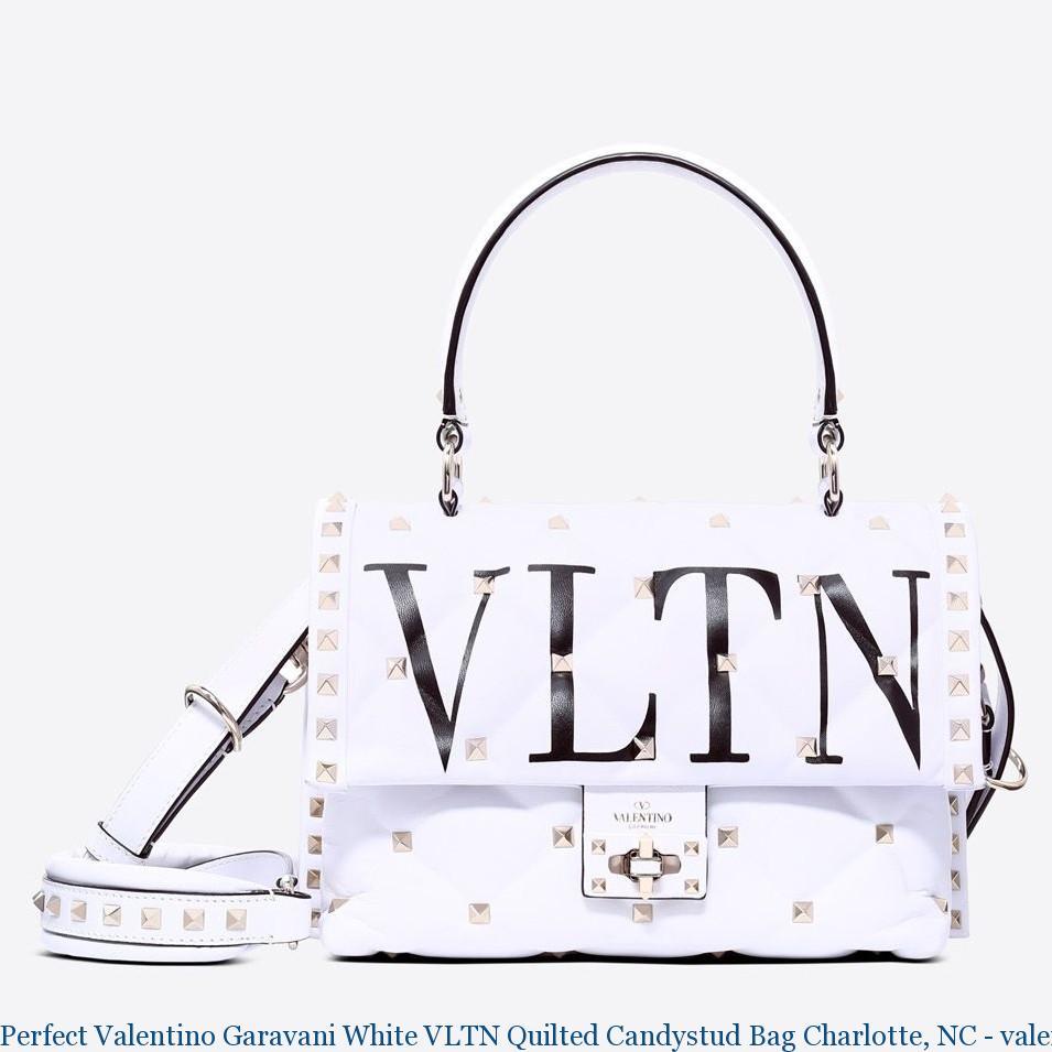 Perfect Valentino Garavani White Vltn Quilted Candystud Bag Charlotte Nc Hong Kong 2501